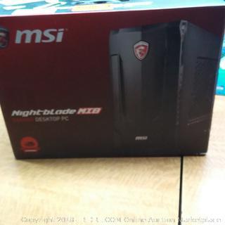 MSI Night-blade NIB Desktop PC Dual Band Wireless See Pictures