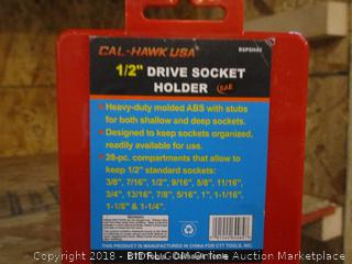 "Cal Hawk 1/2"" Drive Socket Holder"