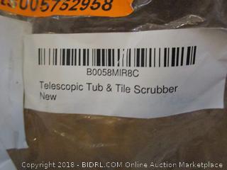 Telescopic Tub & Shower Scrubber