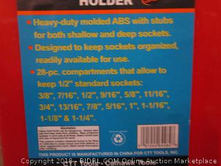 "Cal Hawk 1/2"" Drive Socket Holder"