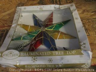 Illuminated Tree Top