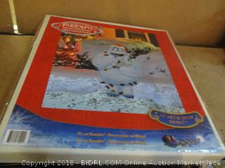 """Christmas decor 32"""" Metal Decor Bumble"""