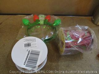 Christmas Ribbon and Headband