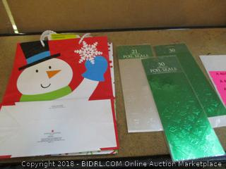 Christmas Bags and Foil Seals