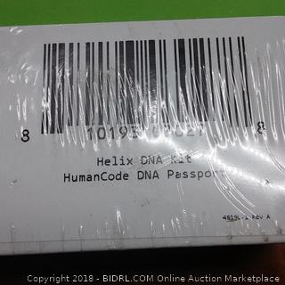 Helix DNA Kit HumanCode DNA Passport Collection Kit