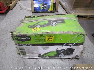 Greenworks  Electric Lawn Mower
