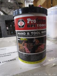 Hand & Tool Wipes