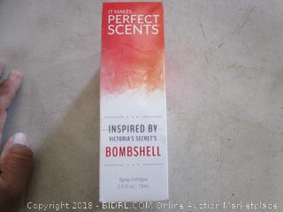 it makes percent scents Bombshell Spray Cologne