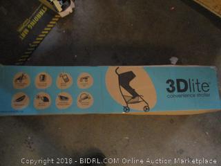 3Dlite Convertible Stroller