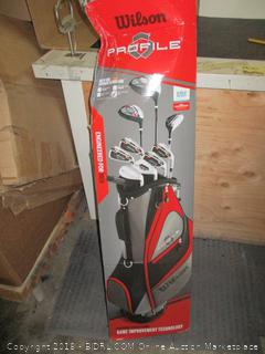 Wilson Golfclubs and bag