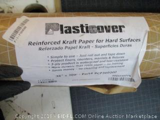 Plasticover Reinforced Kraft paper for hard Surfaces