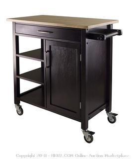 Winsome Mali Kitchen Cart (Retail $220.00)