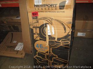 Newport Vessles Electric Outboard Motor NV SaltWater Series