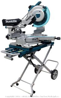 Makita LS1216LX4 12-Inch Dual Slide Compound Miter Saw with Laser and Stand (Retail $855.00)