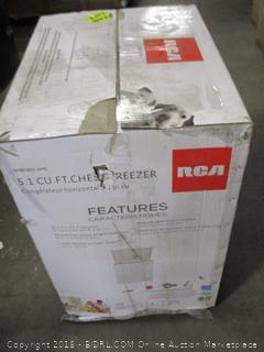 RCA 5.1 cu ft Chest Freezer