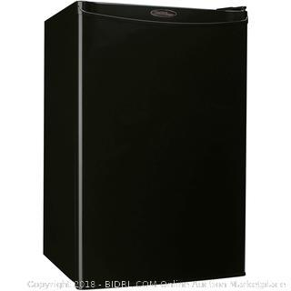Danby Designer DCR044A2BDD Compact Refrigerator, 4.4-Cubic Feet, Black (Retail $193.00)