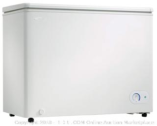 Danby DCF072A2WDB-3 DCF072A2WDB1 Chest Freezer, 7.2 Cubic Feet, White (Retail $299.00)