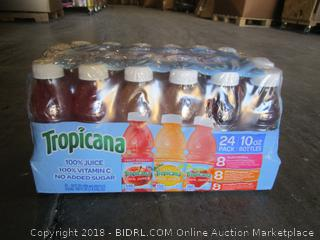 Tropicana 100% Juice 24 Pack
