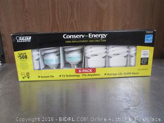 100W Light Bulbs