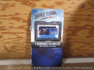 Justice League Reversible Pillow Case