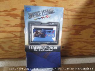 Justice League Reversible Pillow