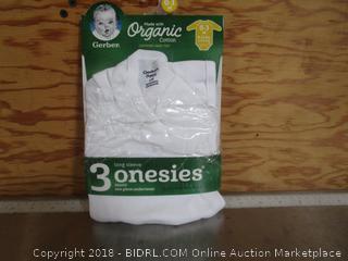 3 Onesies