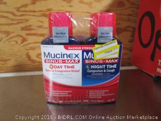 Mucinex Sinus Max Day & Night
