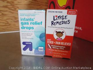 infants gas relief/ Fever-pain reliever