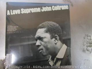 Coltrane Vinyl Record