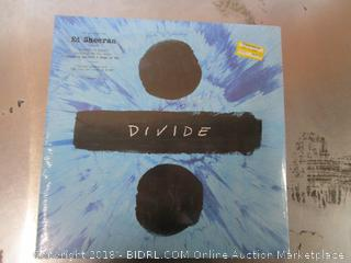 Ed Sheeran Vinyl Record