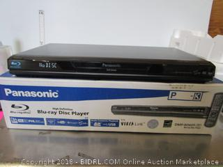 Panasonic Blu Ray DVD Player