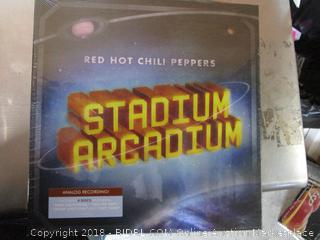 Red Hot Chili Peppers Vinyl Record