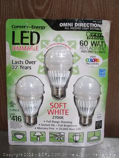 Omni Directional LED 60W Soft White