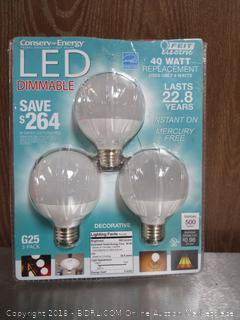 G25 LED 40W Dimmable