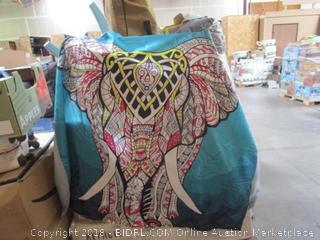 Elephant Tapestry Beach Cloth