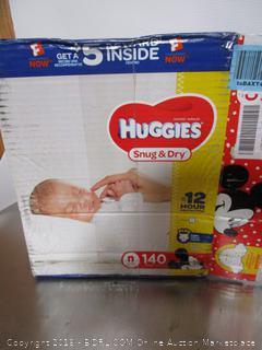 Huggies Snug & Dry size n