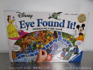 Eye Found It Game