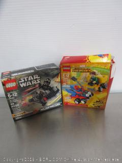 Legos Star Wars, Super Heroes