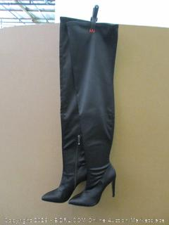 the fix Black Boots SIze7 B(M)