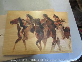 Wooden Indian Picture
