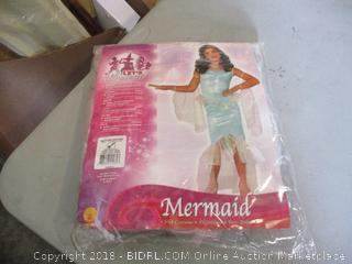 Mermaid Costume Size Medium