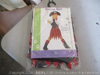 Pirate Girl Costume Size L