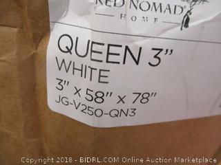 Memory Foam Mattress Topper Queen