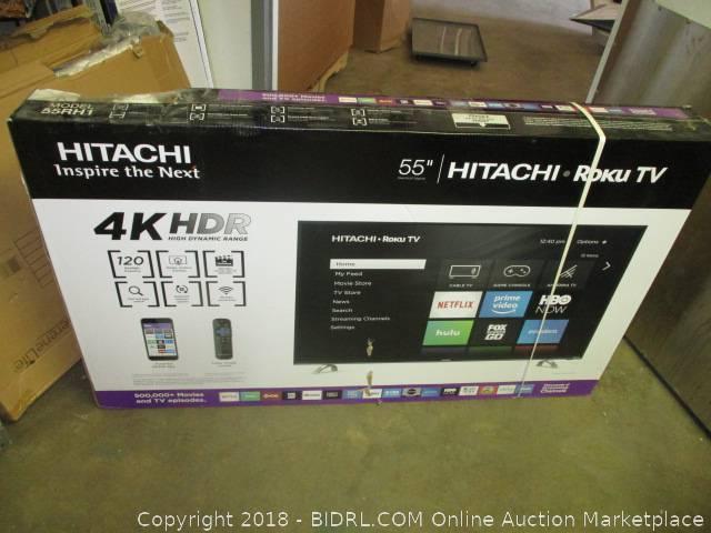 BIDRL COM Online Auction Marketplace - Auction: TV Auction