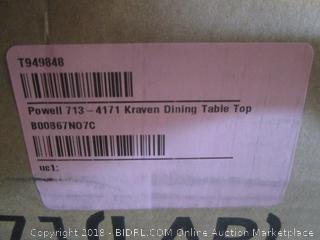 kraven dining table top - missing parts