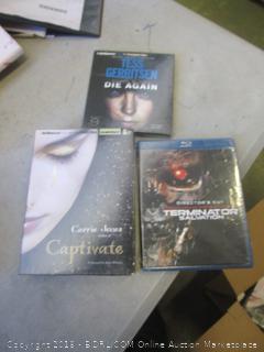 captivate, terminator, and die again movies