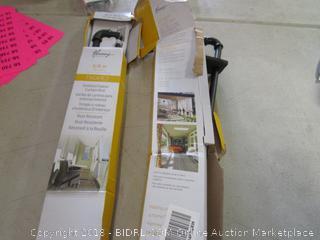 outdoor/indoor curtain rod