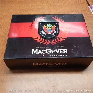 Mac Gyver Season 1-6