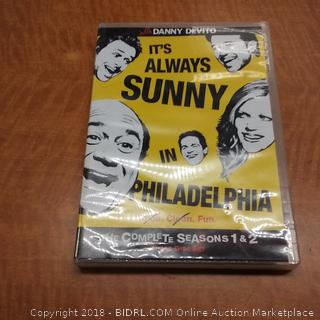 It's Always SUNNY in Philadelphia The Compete Seasons 1 & 2 / missing disc 1 and 2