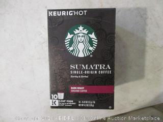 Keurighot Starbucks Sumatra Dark Roast K-Cups